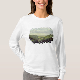 View from the Heilenberg Castle at Jugenheim T-Shirt