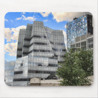 View from the High Line: IAC Building, 100 W 11th Mousepad