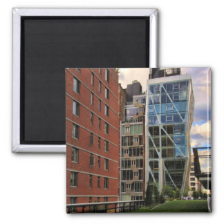 View From the High Line Park: HL23 Refrigerator Magnet
