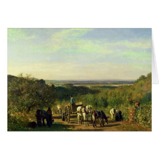 View from the Hilltops of Suresnes Card