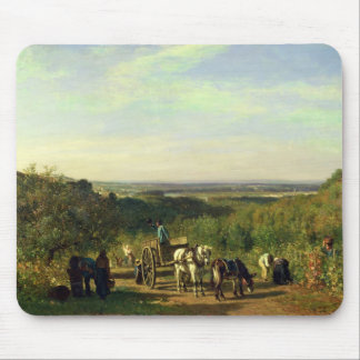 View from the Hilltops of Suresnes Mouse Pad