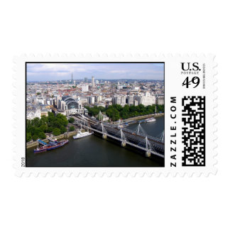 View from the London Eye Postage Stamp