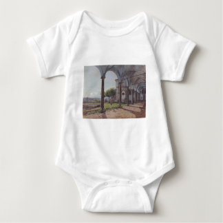 View from the Monastery of Sant 'Onofrio in Rome Baby Bodysuit