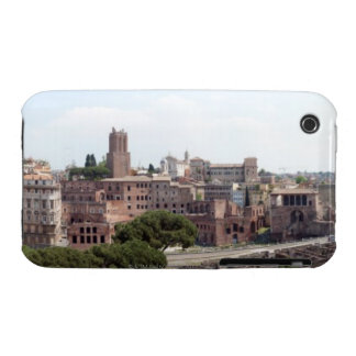 View from the monumat 'Rome, Foro di Traiano'. iPhone 3 Case-Mate Cases