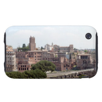 View from the monumat 'Rome, Foro di Traiano'. iPhone 3 Tough Covers