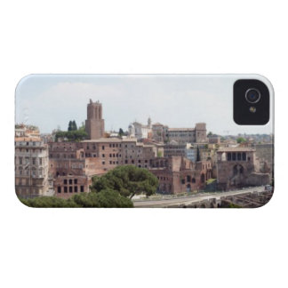 View from the monumat 'Rome, Foro di Traiano'. iPhone 4 Case