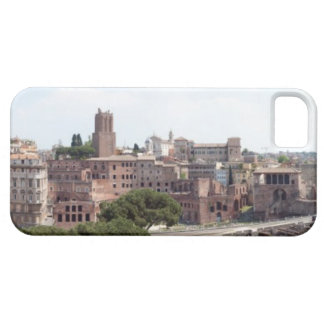 View from the monumat 'Rome, Foro di Traiano'. iPhone SE/5/5s Case
