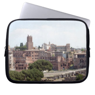 View from the monumat 'Rome, Foro di Traiano'. Laptop Sleeve