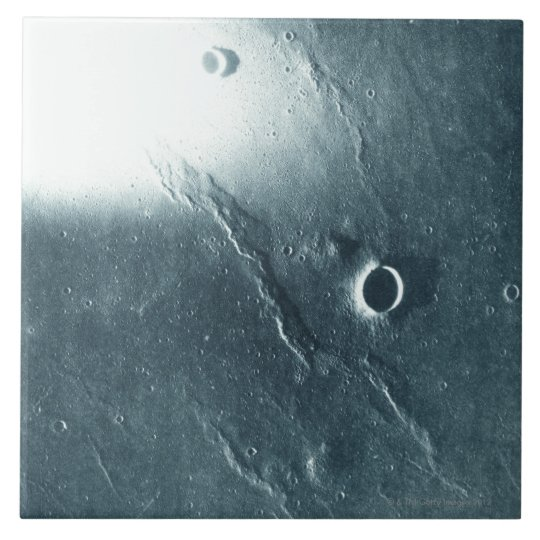 View from the Moon Tile