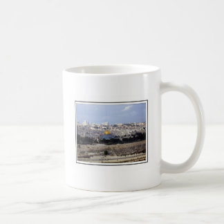 View from the Mount of Olives Coffee Mug