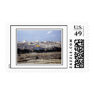 View from the Mount of Olives Postage