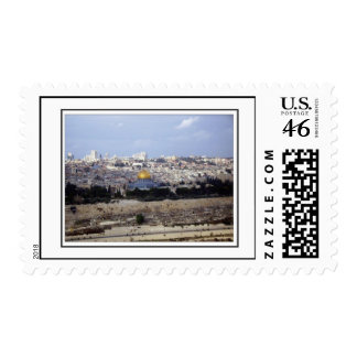 View from the Mount of Olives Postage Stamps