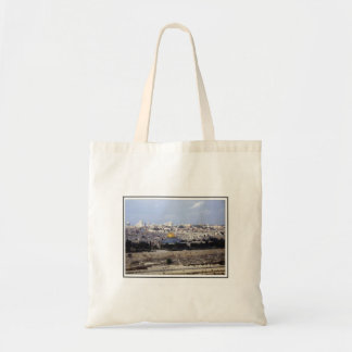 View from the Mount of Olives Tote Bag