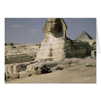 View from the north east of the Sphinx Greeting Card
