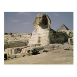 View from the north east of the Sphinx Post Card