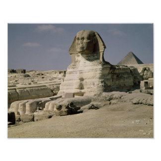 View from the north east of the Sphinx Poster