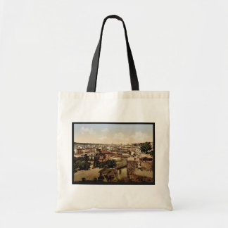 View from the Palace of the Caesars, Rome, Italy c Budget Tote Bag