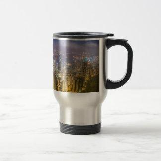 View from The Peak, Hong Kong 15 Oz Stainless Steel Travel Mug