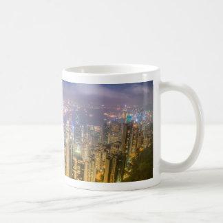 View from The Peak, Hong Kong Classic White Coffee Mug