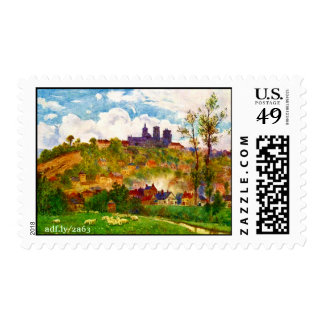 View From the Plain Postage Stamps