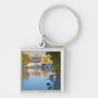 View from the Ponte Sisto Bridge of the Tiber Keychain