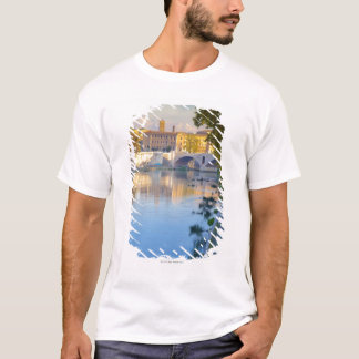 View from the Ponte Sisto Bridge of the Tiber T-Shirt