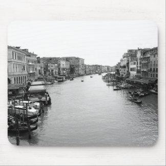 View from the Rialto Bridge in Venice Mouse Pad