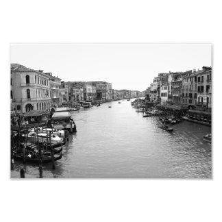View from the Rialto Bridge in Venice Photo Print