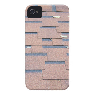 View from the roof shingles closeup brown iPhone 4 case