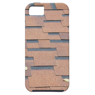 View from the roof shingles closeup brown iPhone SE/5/5s case