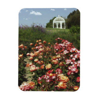 View from the Rose Garden Magnet