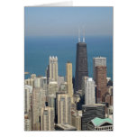 View from the Sears Tower 3 Greeting Card