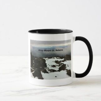View from the top of Mt. St. Helens Mug