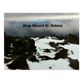 View from the top of Mt. St. Helens Postcard