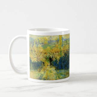 View from the veranda in Mezy by Berthe Morisot Coffee Mug