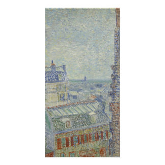 View from Theo's Apartment by Vincent Van Gogh Card