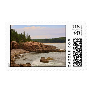 View from Thunder Hole Stamp