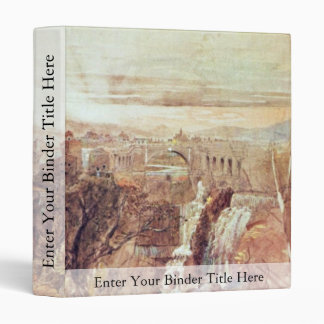 View From Tivoli By Palmer Samuel (Best Quality) 3 Ring Binders