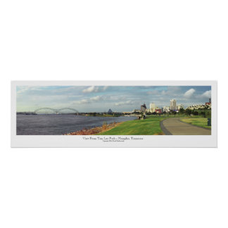 View From Tom Lee Park - Memphis, TN Print