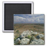 View from Troy of the surrounding landscape Refrigerator Magnet