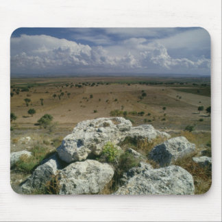 View from Troy of the surrounding landscape Mouse Pad