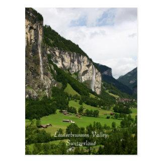 View From Trummelbach Falls, Lauterbrunnen CH Postcards