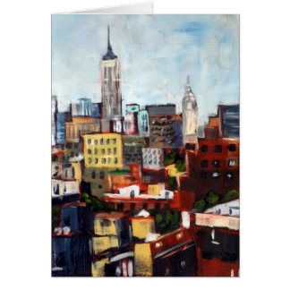 View from Varick Street Card