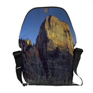View from Virgin River flood plain, Zion Canyon Messenger Bag