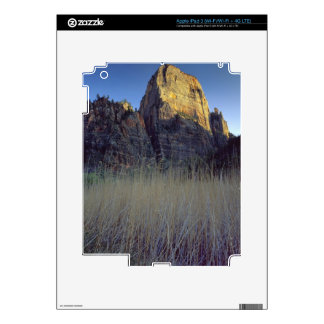 View from Virgin River flood plain, Zion Canyon iPad 3 Decal