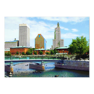 View from Waterplace Park, Providence, RI Announcement