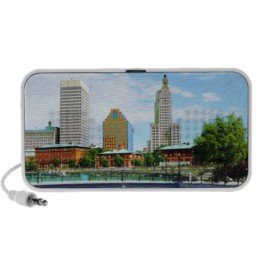 View from Waterplace Park, Providence, RI Travel Speaker