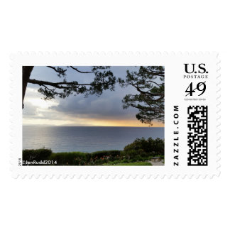 View from Wayfarers Chapel Palos Verdes Postage