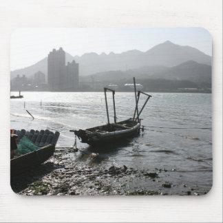View from Zhuwei towards Luzhou, Taiwan Mouse Pad