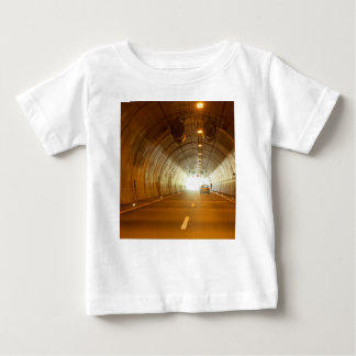 View in a highway tunnel baby T-Shirt